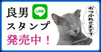 映画「猫は抱くもの」良男LINEスタンプ